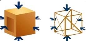 耐震性や気密性に優れた2×4工法で全邸建築致します。